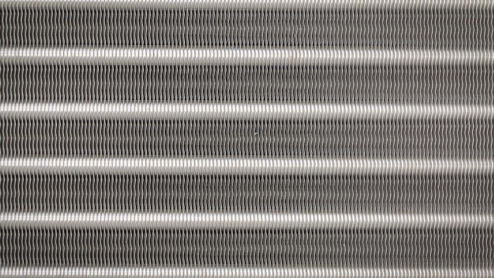 Fins of an air conditioner