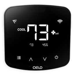 cielo breez plus smart wifi air conditioner controller with local controls