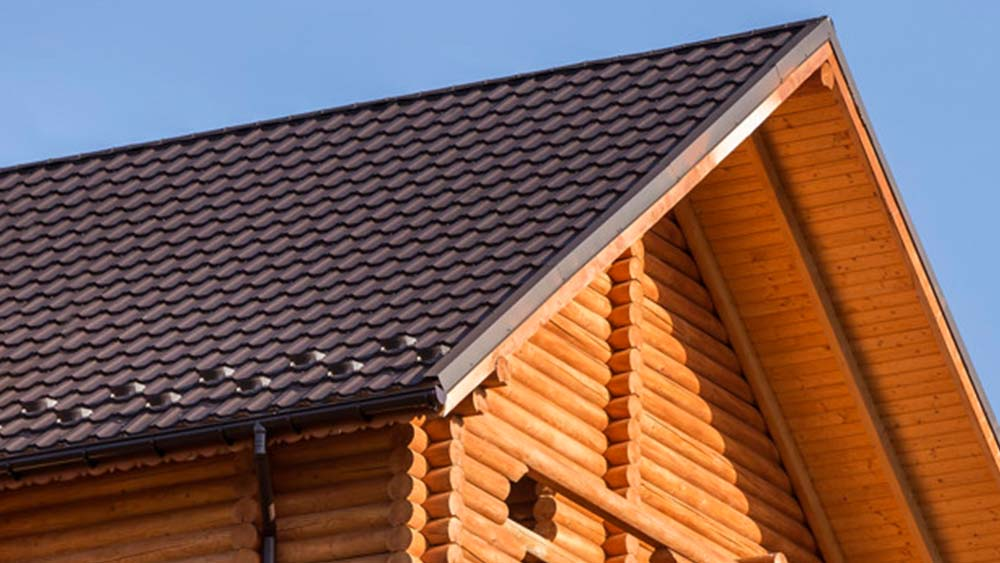 Roofing material for energy-saving homes