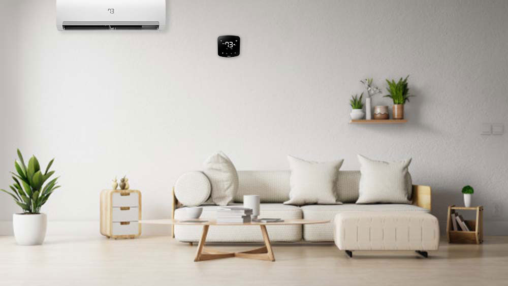 Cielo Breez Plus smart AC controller in an energy efficient home