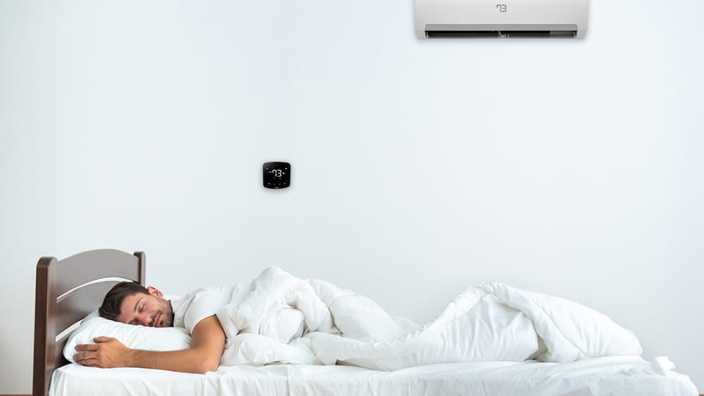 How your sleep time is influenced by temperature differences.