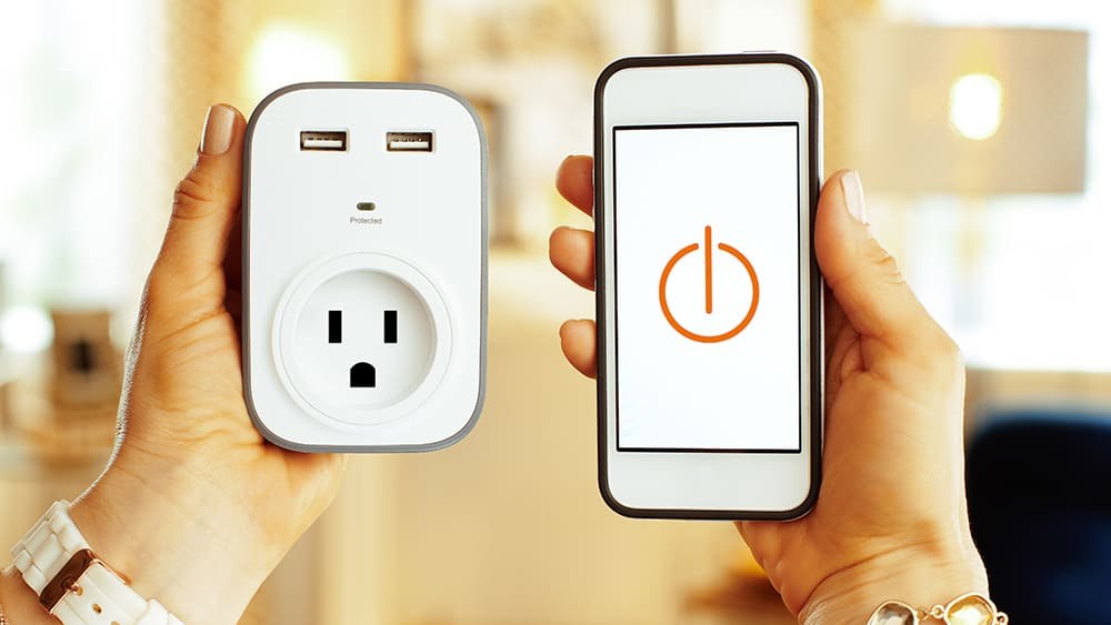 Air conditioner smart plugs.