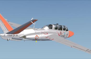 Fouga CM-175 Zephyr pour FSX