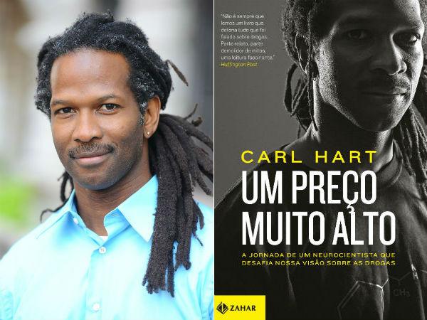 O neurocientista, Carl Hart, vem para a Bienal do Livro!