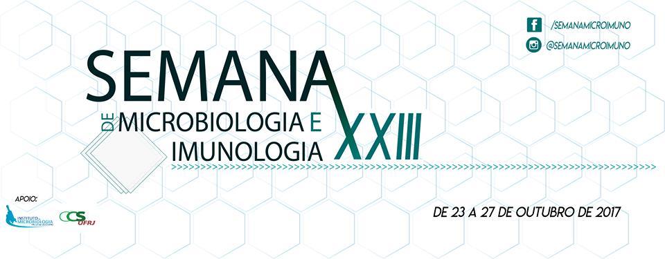 23ª Semana de Microbiologia e Imunologia – UFRJ