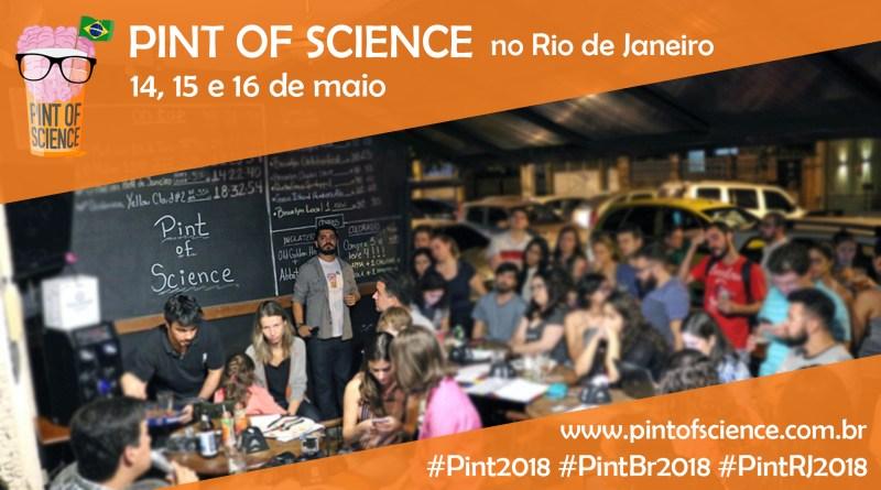 Pint of Science transforma Informação Quântica e Astrobiologia em conversa de bar no Rio de Janeiro