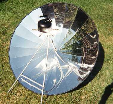 Cocinas solares prototipo