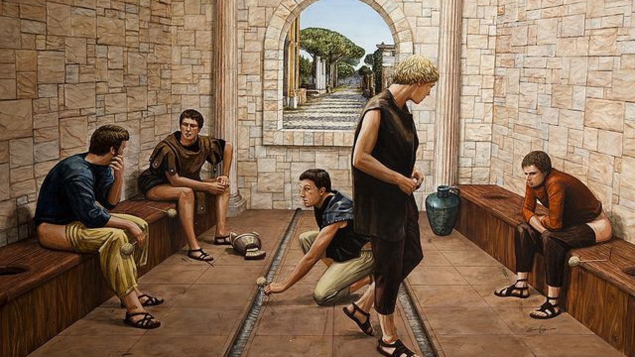 How Romans wiped their butts after going to the bathroom  - Ciencia