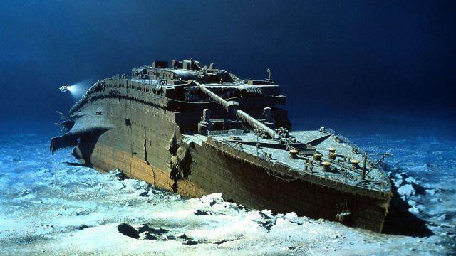 Titanic Robert Ballard