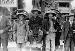 De cómo los chinos ayudaron a unir los Estados Unidos.