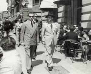 """""""Personaje Respetable"""", Lucky Luciano en Roma."""