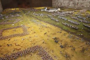 Diorama Waterloo, cuadros