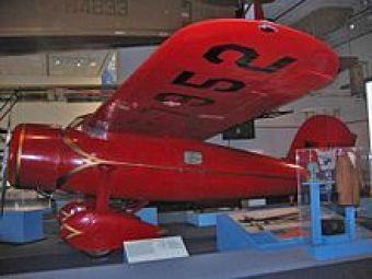 Lockheed Vega de Amelia Earhart, en el Museo Nacional de la Aviación, Washington D.C.