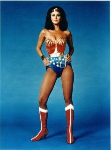 Lynda Carter, cuando no existía el Photoshop.