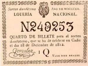 Loteria 1812
