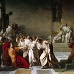 Julio César y Cleopatra, o cómo perder la vida por una mujer.