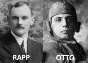 Karl Rapp y Gustav Otto, fundadores de BMW