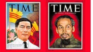 Ngo-Dinh-Diem y Ho-Chi-Minh