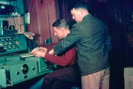 David Packard y William Hewlett en 1939.