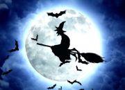 Brujas en escobas