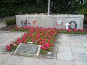 Cementario georgiano en Texel