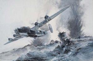 Ataque del B-24 Liberator