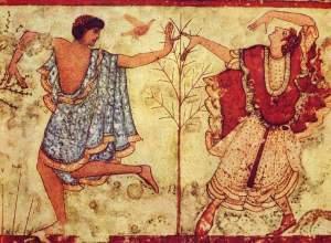 Roma no surgió de la nada. Los etruscos.