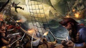 Piratas en batalla