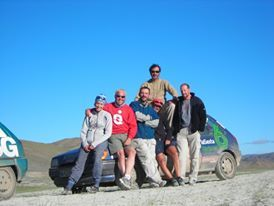 Mongol rally 2007