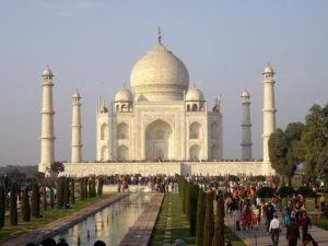 Cuando Taj Mahal murió, para vivir eternamente.