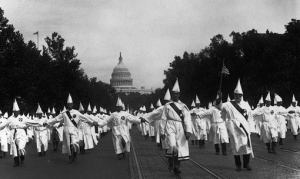Rally del Ku Klux Klan en Washington, 1925.
