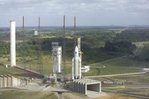 Centro espacial de la ESA en Cayyenne