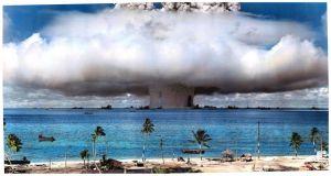 Prueba nuclear en Bikini