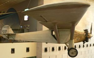 el Spirit of St. Louis, en la actualidad en el Museo Smithsonian, Washington, D.C.