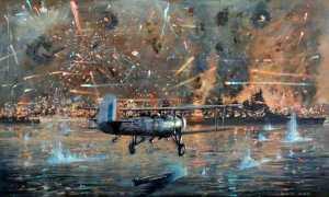 Ataque a Tarento: el ensayo de Pearl Harbor.