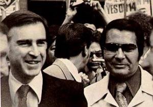 Walter Mondale y Jim Jones