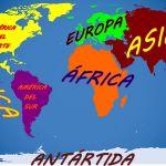 ¿De dónde salieron los nombres de los continentes?