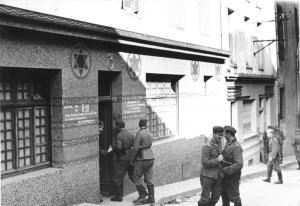 Burdel militar nazi.