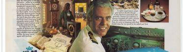 Van Zanten en un folleto de KLM