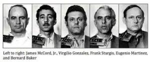 Los cinco ladrones del Watergate