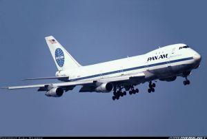 Un 747 de Pan Am