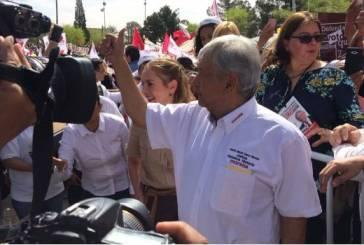 López Obrador inicia campaña en Ciudad Juárez
