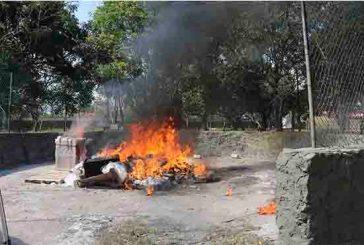 Destruyen cerca de 200 mil objetos del delito e incineran más de media tonelada de narcóticos