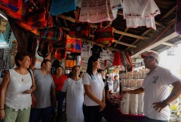 Destaca Laura Fernández importancia de diversificar la economía de Puerto Morelos
