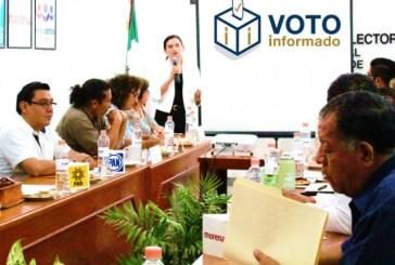 "Presenta INE Quintana Roo plataforma ""Voto Informado 2018"""