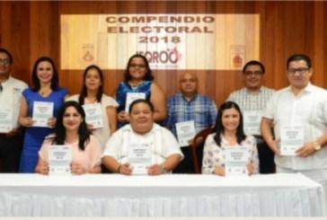 Presentan el Compendio Electoral 2018