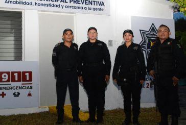 Aprueban exámenes de control y confianza 45 aspirantes a policía municipal en Othón P. Blanco
