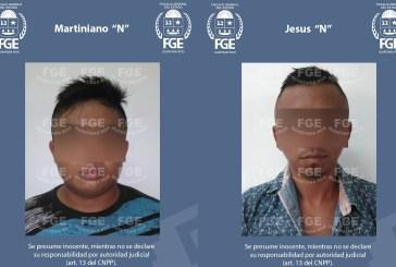 Vinculan a proceso a dos imputados por  el delito de robo calificado