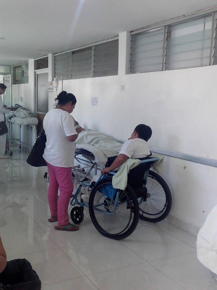 Oficialmente el hospital general de Chetumal está saturado por #COVID19