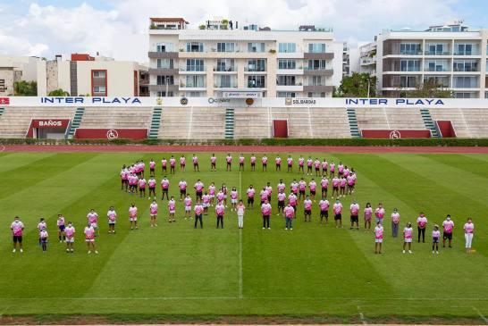 Deportistas se sumaron al Ayuntamiento de Solidaridad en lucha contra el cáncer
